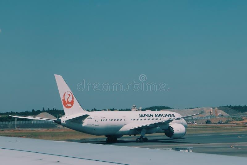 flygbolag japan arkivbilder