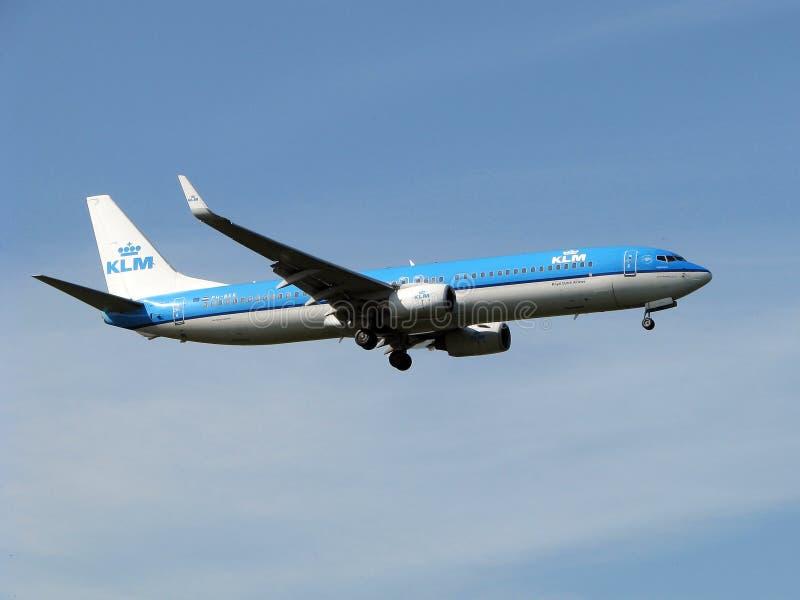 flygbolagklm arkivbild