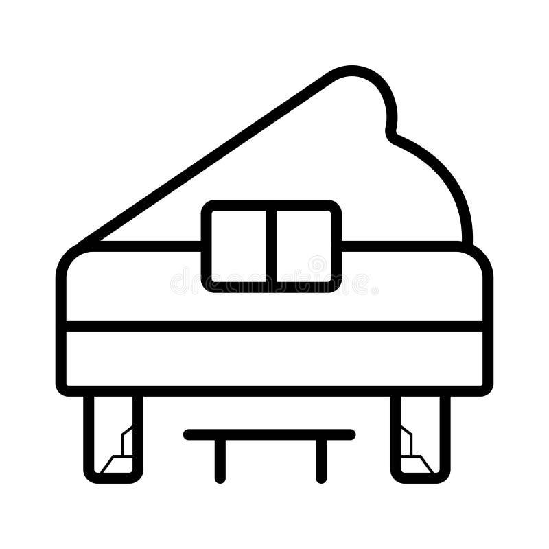 Flygelvektorlinje symbol som isoleras på vit bakgrund grand vektor illustrationer
