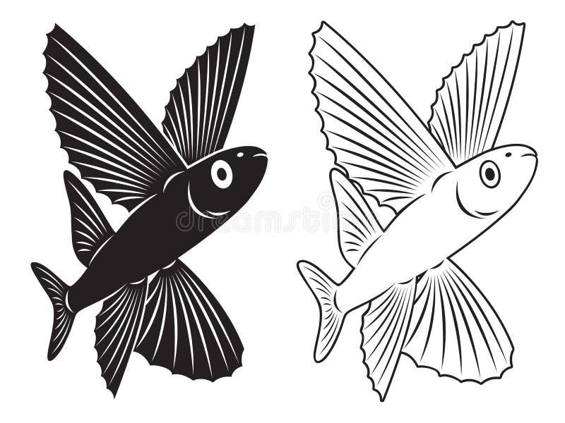 Flygfisk Royaltyfria Bilder