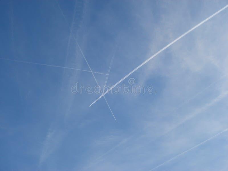 Flygflygplan royaltyfri bild