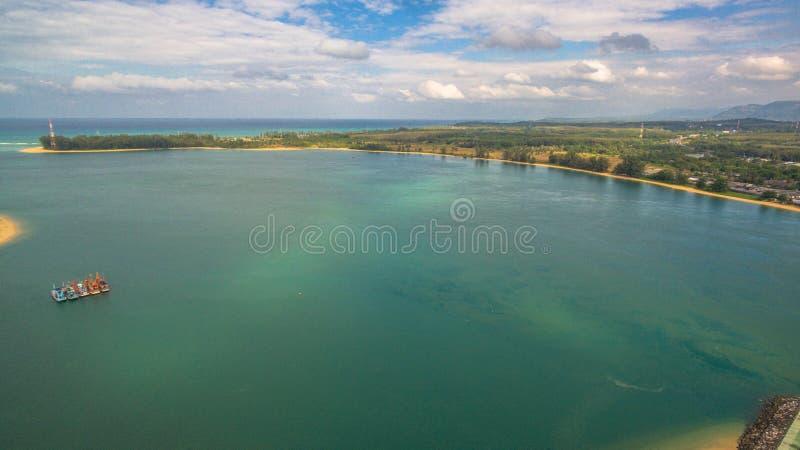 Download FlygfotograferingSarasin Bro Phuket Fotografering för Bildbyråer - Bild av transport, handel: 106835895