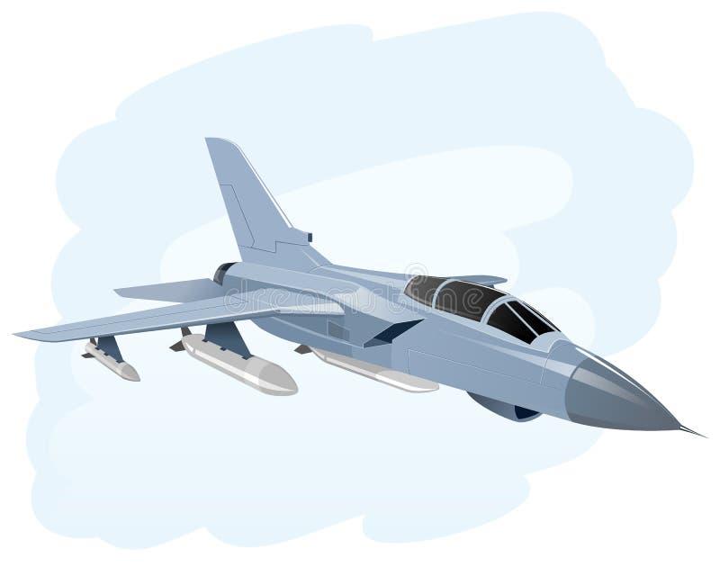 Flygkrignivå vektor illustrationer