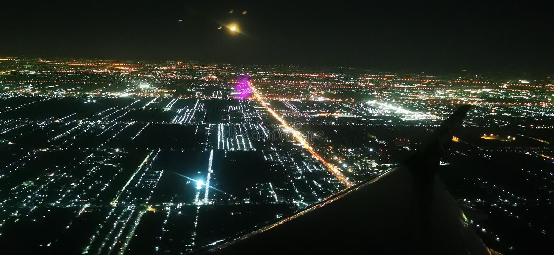 flygmoon till fotografering för bildbyråer