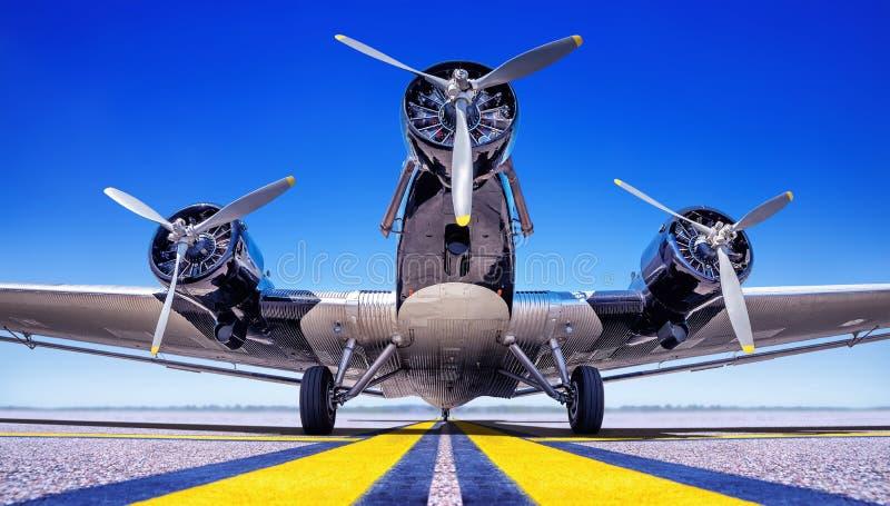 flygplan royaltyfri fotografi