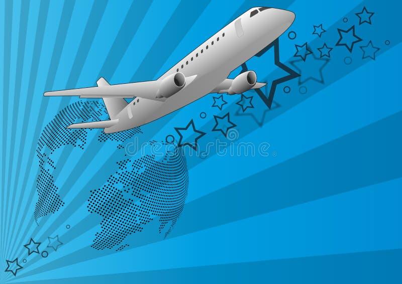Download Flygplan vektor illustrationer. Illustration av internationellt - 27275016