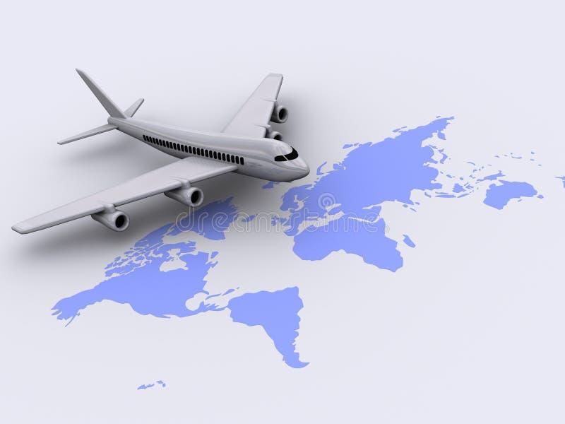flygplan 91 vektor illustrationer