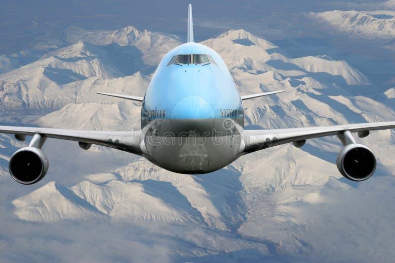 flygplan alaska över royaltyfri bild