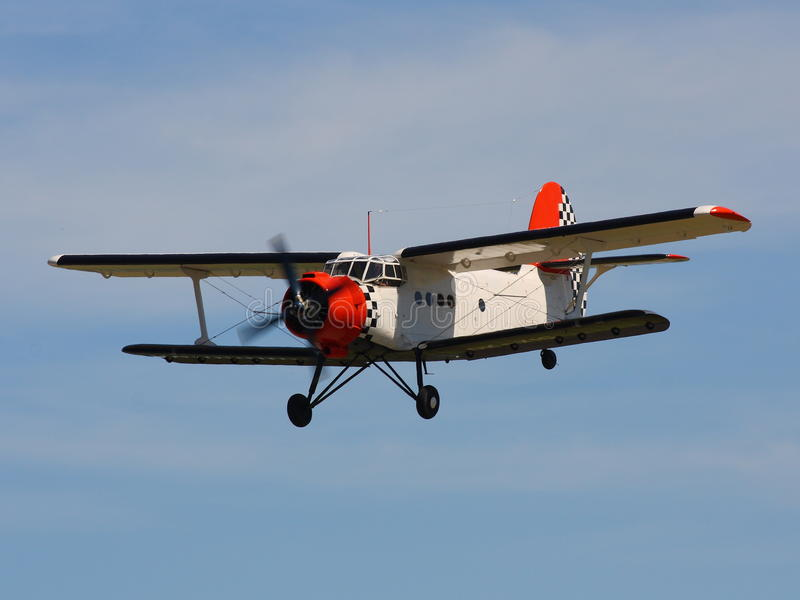 Flygplan Antonov 2 arkivbilder