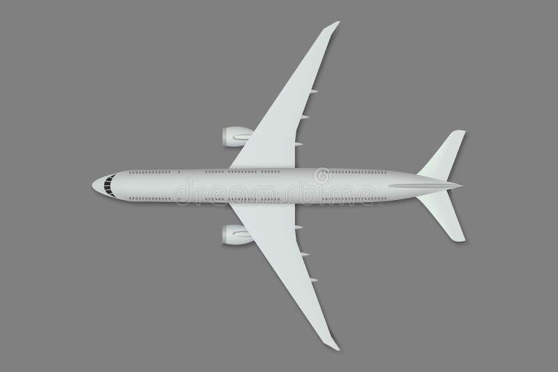 Flygplan för bästa sikt stock illustrationer