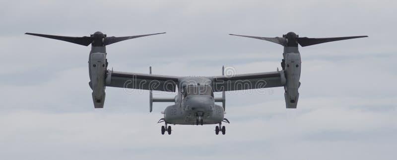 Flygplan för fiskgjuse V-22 arkivbild