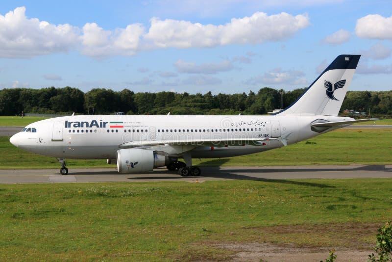 Flygplan för Iran Air flygbuss A310 royaltyfria foton