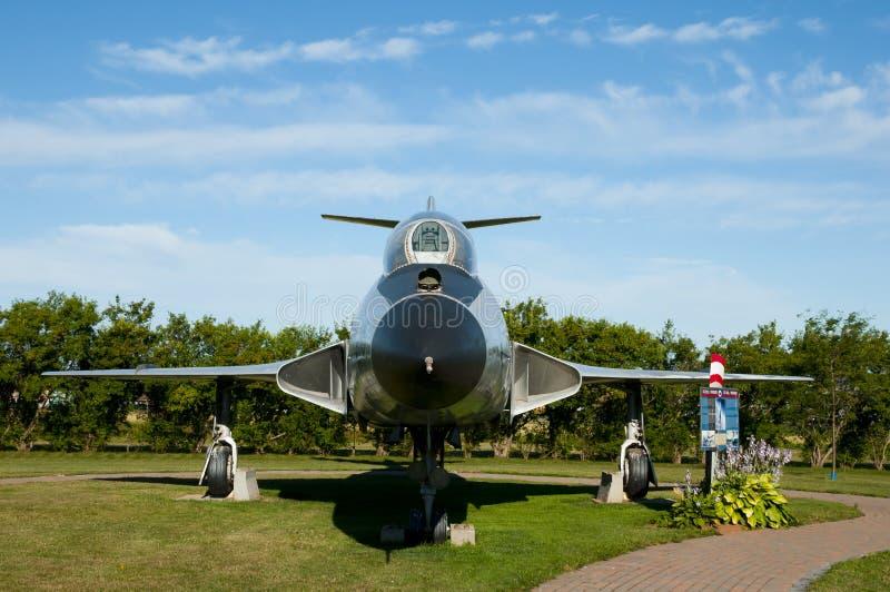 Flygplan för voodoo CF-101 arkivbilder