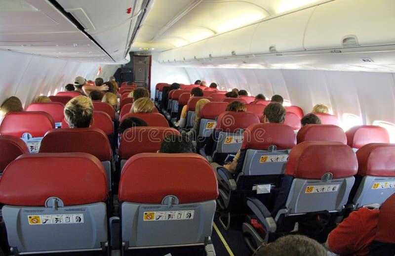 flygplan inom royaltyfri fotografi