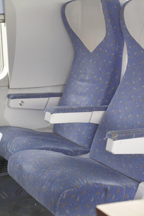 flygplan inom passagerareplatser royaltyfri foto