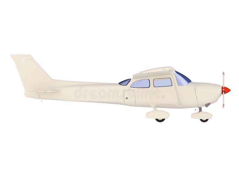 flygplan isolerad horisontsikt stock illustrationer
