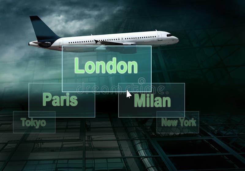 flygplanaffär royaltyfri foto