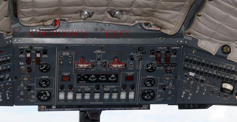 flygplaninstrument royaltyfria bilder