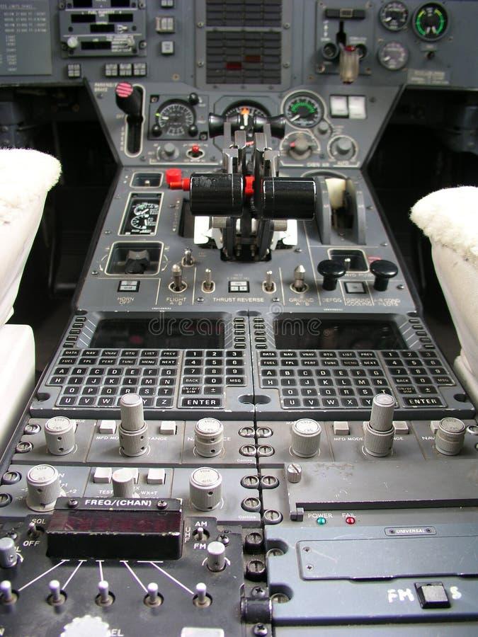 flygplaninstrumentalpanel fotografering för bildbyråer