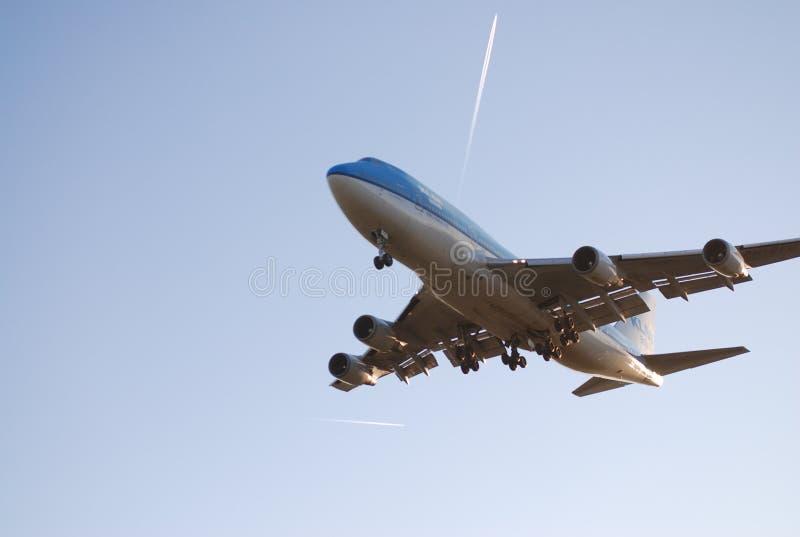 flygplanklm fotografering för bildbyråer