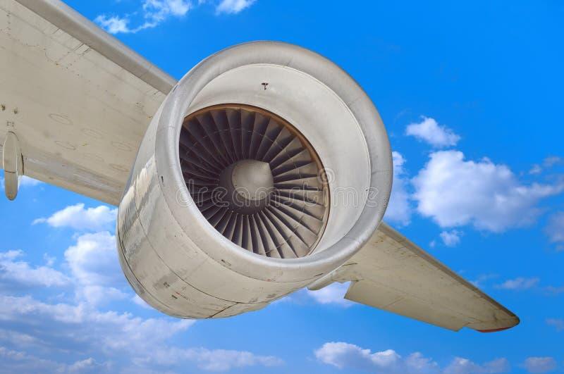Flygplanmotor arkivbilder