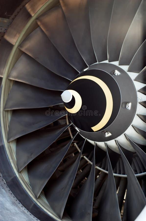 flygplanmotorstråle s fotografering för bildbyråer