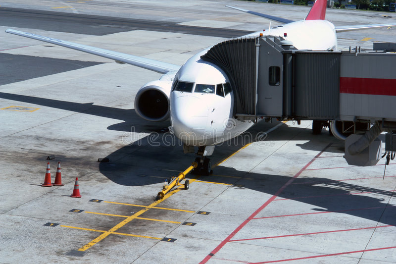 flygplanport arkivbild