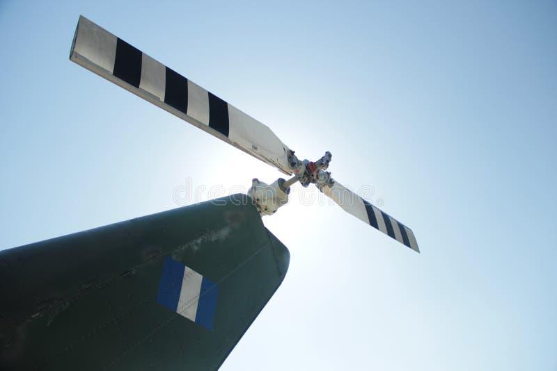 Flygplanpropeller arkivbilder