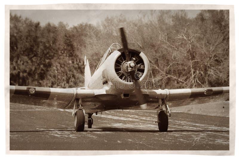 flygplanpropellertappning royaltyfria bilder