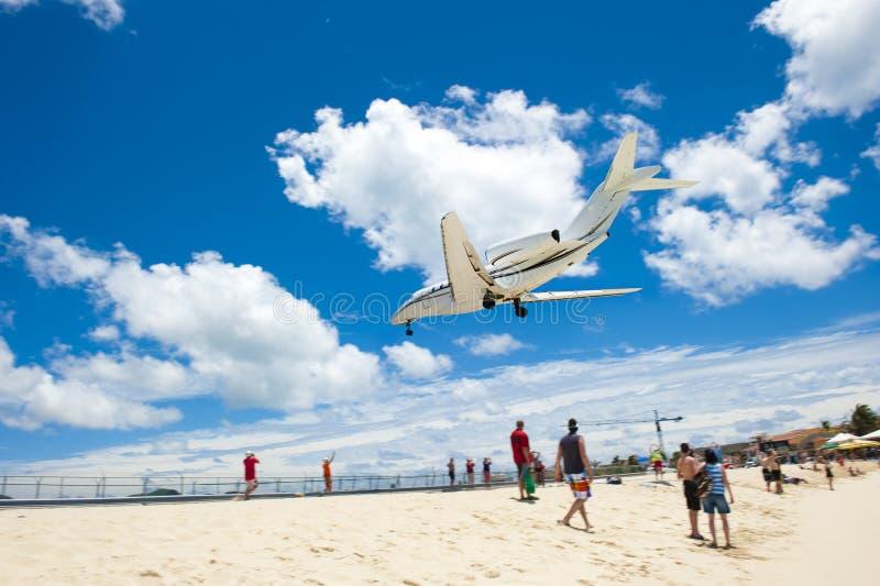 flygplansand royaltyfri bild