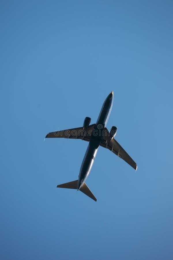 flygplanstråle arkivbild