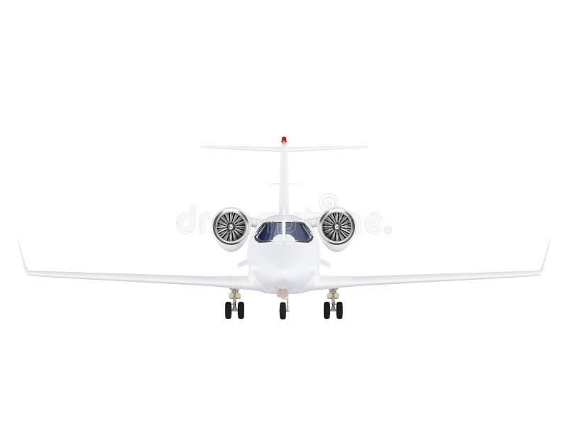 flygplanstråle stock illustrationer