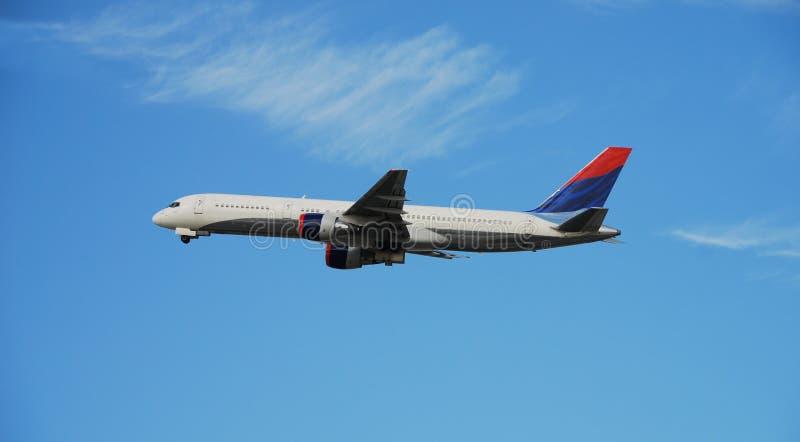 flygplanstrålpassagerare fotografering för bildbyråer