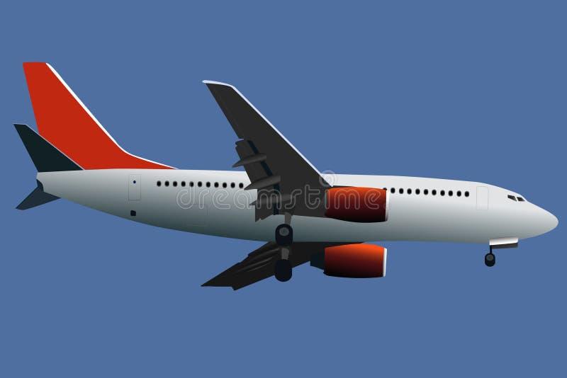 flygplanvektor vektor illustrationer