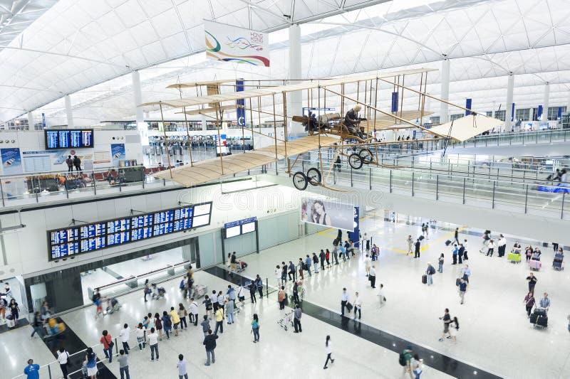 Flygplats royaltyfri bild