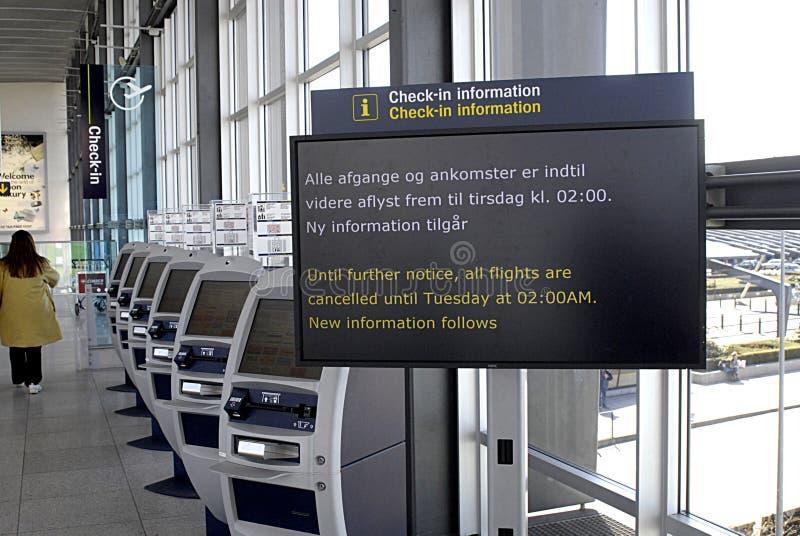 flygplats copenhagen denmark arkivfoton