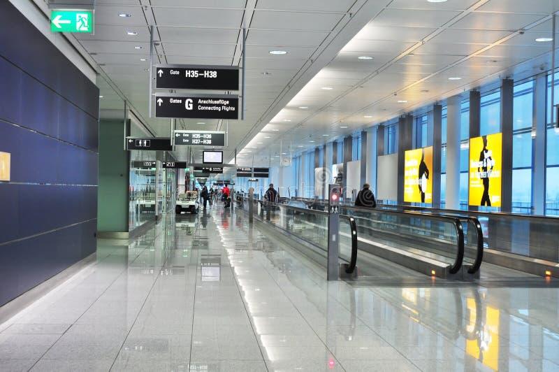 flygplats frankfurt arkivfoto