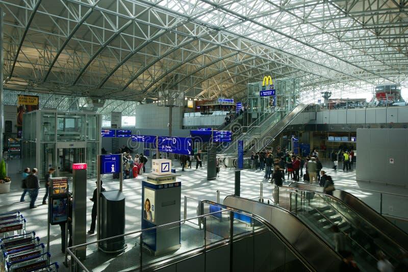flygplats frankfurt royaltyfria foton