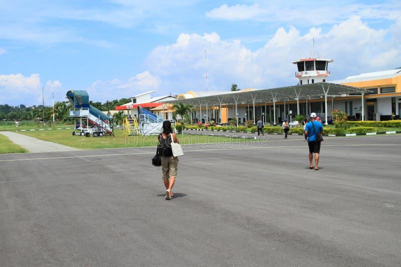 Flygplats i Ende royaltyfri bild