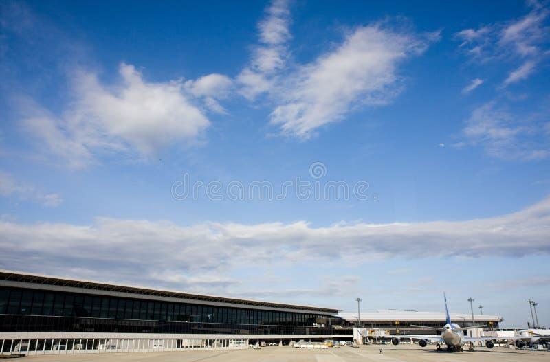 flygplats narita arkivbild