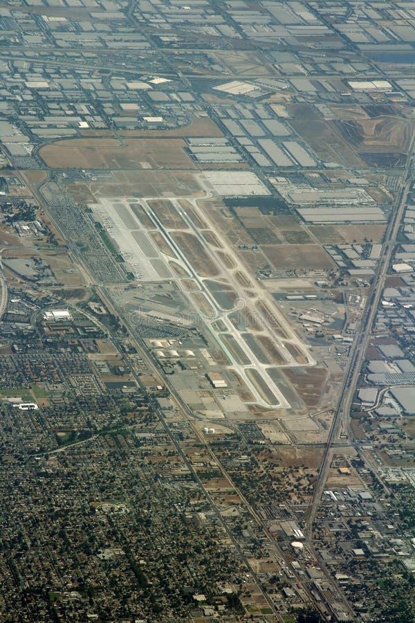 flygplats ontario royaltyfri foto