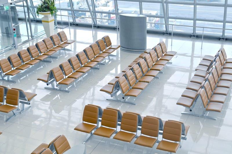 flygplatsavvikelseport arkivbilder