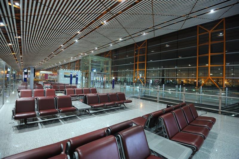 flygplatsbeijing huvudinternational royaltyfri bild