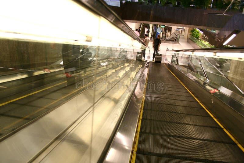 flygplatshandelsresandear royaltyfri foto