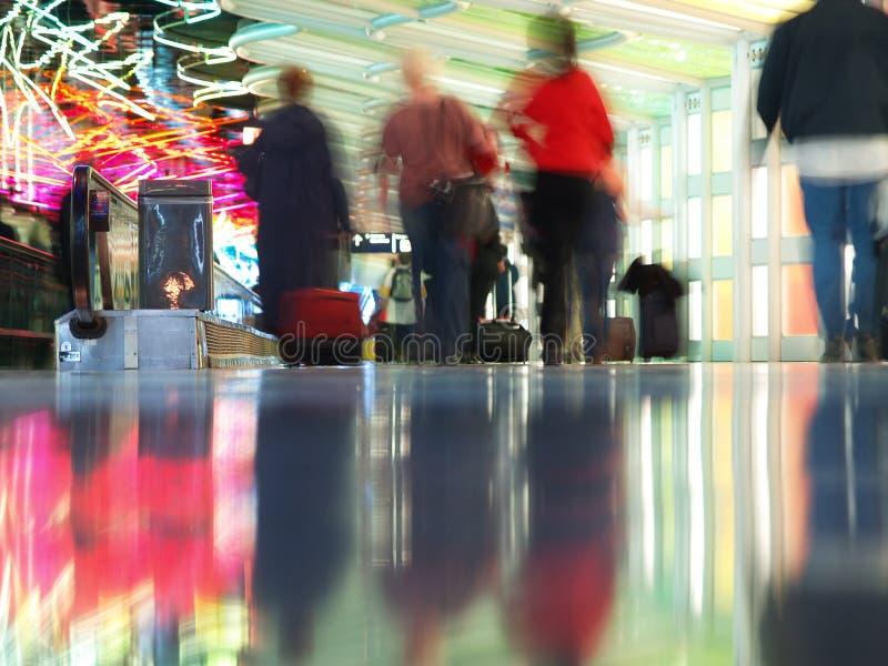 flygplatsinternationalohare arkivbilder