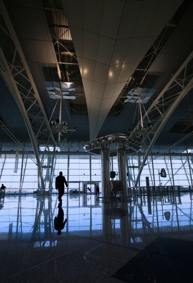 flygplatsreflex arkivfoton