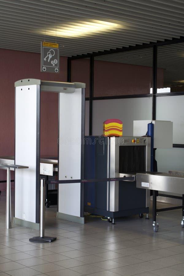 flygplatssäkerhet arkivbild