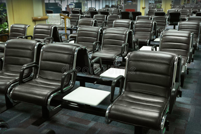 Flygplatsvardagsrum royaltyfria bilder