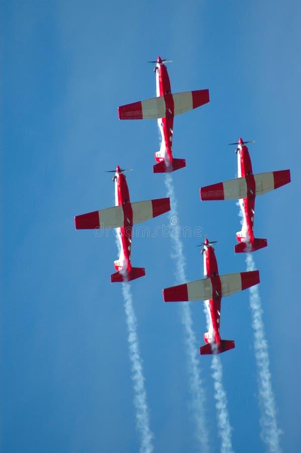 flygshow arkivfoto