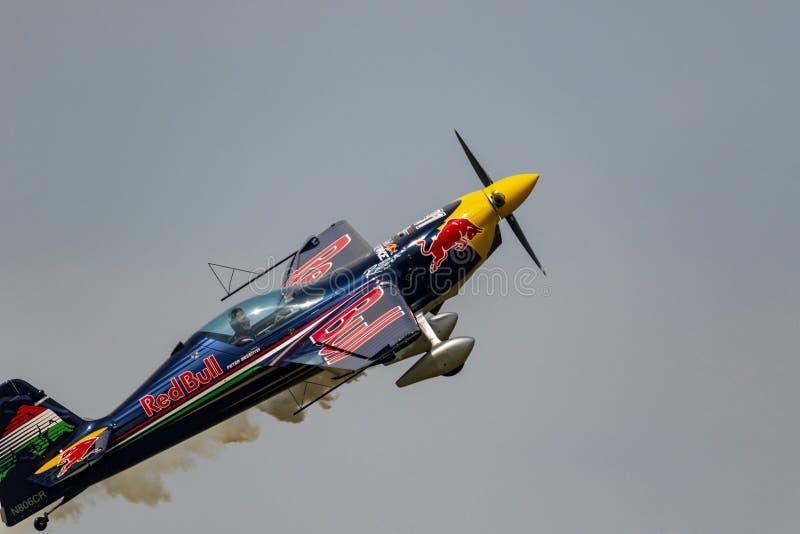 Flygshow Hunagry 2018 arkivfoton